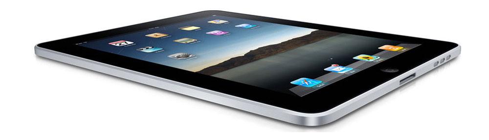 Apple iPad on White
