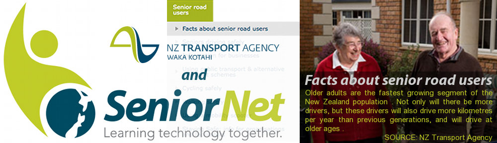 SeniorNet and NZ Transport Agency - Partners