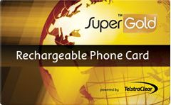 Telstra SuperGold Card