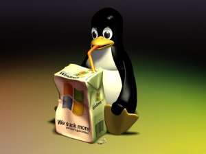 Windows XP Penguin