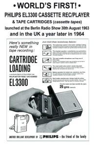 Philips Casset Rec 1963