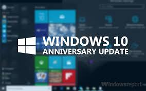 W10 Anniversary Update